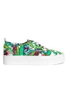 Zapatillas con plataforma | H&M