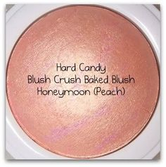 Hard Candy baked blush Honeymoon.... They say it's a dupe for MAC soft and gentle... But for only $7!! Great highlight color!