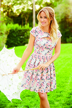 March LC Lauren Conrad Collection for Kohl's, this could be a cute graduation dress!