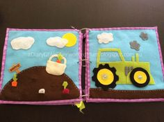 "The Quiet Book Blog: Sami's ""On the Farm"" Quiet Book"