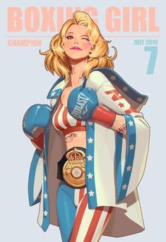 ArtStation - Boxing Girl, Youngjin Seo You are in the right place about Boxing Girl Here we offer you the most beautiful pictures about the Boxing Girl bla Character Design Animation, Female Character Design, Character Design Inspiration, Character Concept, Character Art, Concept Art, Character Illustration, Illustration Art, Art Illustrations
