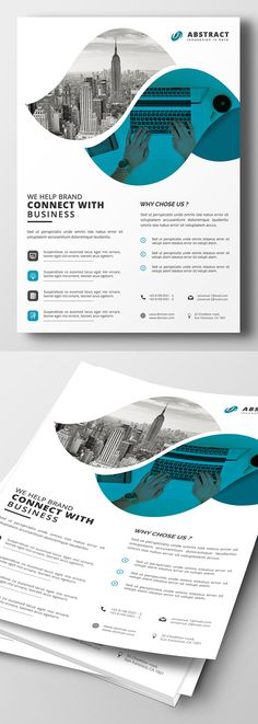 Creative Corporate Flyer PSD Template