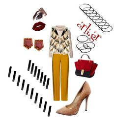 Cafe cafe#orli.gr by orlibyorsalias on Polyvore featuring polyvore, fashion, style, Tommy Hilfiger, GUESS by Marciano, ADAM, Lele Sadoughi, Lime Crime and clothing
