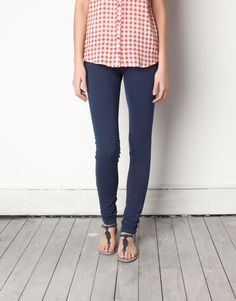 PULL SS12  Jegging color  19,99€  Color: azul oscuro  Ref.. 5681311