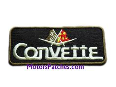 Corvette Patches Car Racing Team Motorsports Jacket Biker Patches, Embroidery Patches, Racing Team, Formula One, Tank Top Shirt, Corvette, Race Cars, Zip Around Wallet, Jackets