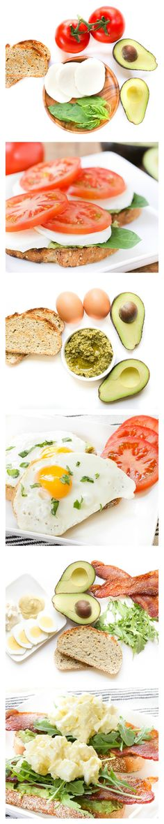 The great thing about avocado toast is that it's not just for breakfast!  It can be made for breakfast, lunch, or for a snack!