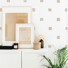 Boho Nursery, Nursery Decor, Nursery Ideas, Bedroom Decor, Modern Wall Stickers, Removable Wall Decals, Neutral Wall Stickers, Herringbone Wallpaper, Kids Room Wall Art