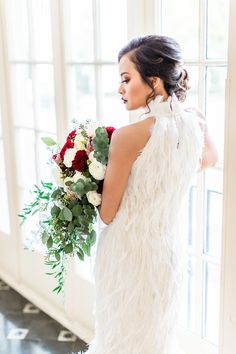 Xiaolin by Julia Chew - Blog - Terrace Romance - Ostrich Feather Couture Mermaid Wedding Gown