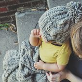 Ravelry: Farmhouse Baby Hat pattern by Courtney Spainhower