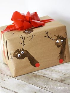 Kids Crafts: Gift Wrapping Ideas
