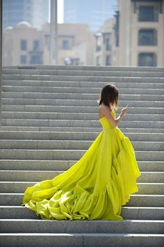 I will renew my vows in something colorful!