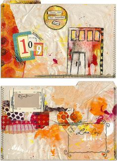 Mail Art for Lisa C by Roben-Marie Smith
