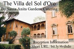 Catering, Reception, Villa, Fandom, Mansions, House Styles, Catering Business, Manor Houses, Gastronomia
