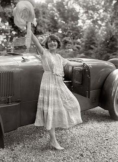 Vintage 1920s Lawn Party Dress Vintage Photo