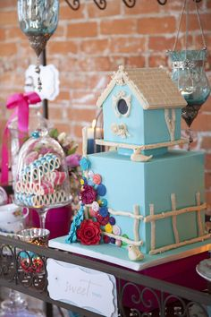 Colourful, playful and a fun twist on country and vintage.  http://www.thecakemuseum.ca/