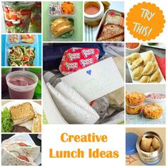 Think outside the box with these creative lunch ideas featured on Four Generations One Roof