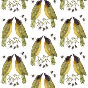 Yellowthroats  fabric by gollybard, click to view