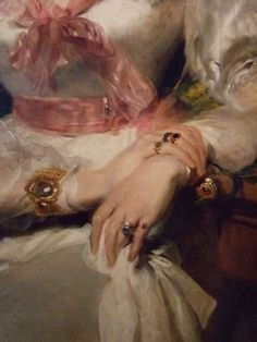 broken-blossoms: ca 1828 Sir Thomas Lawrence (English, 1769-1830) ~ The honorable Mrs Seymour Bathurst [detail]