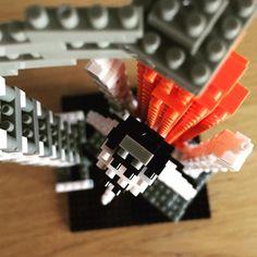 «Nanoblocks space shuttle ready to launch. #nanoblock #nanoblocks #spaceshuttle #space #spaceship»