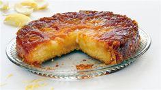 Καραµελωµένη λεµονόπιτα Greek Sweets, Greek Desserts, Lemon Desserts, Lemon Recipes, Greek Recipes, Desert Recipes, Greek Cake, Eat Greek, Greek Pastries