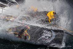 Sailing Volvo Ocean Race