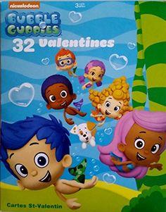 Bubble Guppies 32 Valentine Cards //.amazon.com/ & BUBBLE GUPPIES ~ Bath Toy Set ~ Gil u0026 Molly ~ Water Swimmer ...