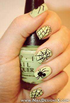 sexy halloween nail art » Nail Designs & Nail Art