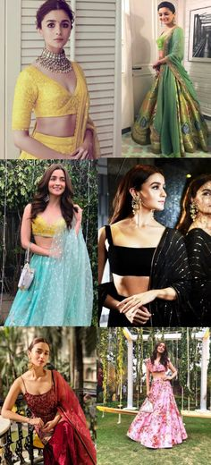 Here are some times when Alia Bhatt gave us some serious wedding wear goals by slaying in these really different out of the box designs! Book your wedding with BookEventz wedding wear Some serious wedding wear goals by Alia Bhatt! Indian Wedding Outfits, Indian Outfits, Indian Wedding Guest Dress, Dress Indian Style, Indian Dresses, Indian Attire, Indian Wear, Alia Bhatt Lehenga, Lehnga Dress