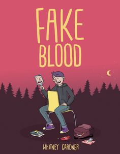 Fake blood by Whitney Gardner. (New York : Simon & Schuster Books for Young Readers, In order to get the attention of Nia, the girl he likes, eleven-year-old A. pretends to be a vampire, unaware that she intends to be a slayer. Jhon Green, Real Vampires, Fake Blood, Ya Novels, Halloween Books, Coming Of Age, Girl Humor, Book Lovers, My Books