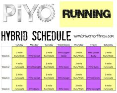 running piyo hybrid - Google Search