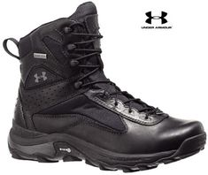 """Under Armour Speed Freek Military Tactical Boot - UA Black 7"""" All Terrain Boots"""