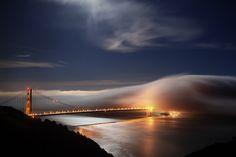 Sunrise in San Francisco, California, USA.