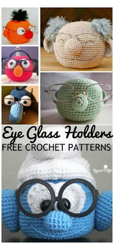 Easy Diy Mother's Day Gifts, Diy Mother's Day Crafts, Diy Mothers Day Gifts, Mother's Day Diy, Spring Crafts, Yarn Crafts, Crochet Diy, Crochet Eyes, Love Crochet