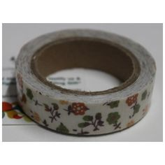 Buy White with green and red flowers decorative tape/Adhesive for any use by undefined, on Paytm, Price: Rs.125?utm_medium=pintrest