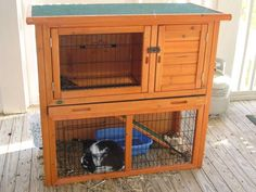 two story bunny cage