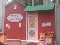 On stage at the Folklore Theater in Door County Wi. The classic: Muskies in Love