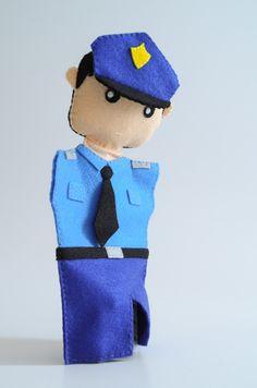 Police Officer Puppet Hanukkah Pinterest