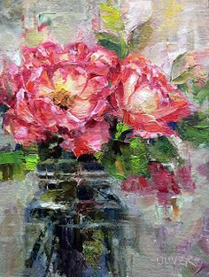 Art Talk - Julie Ford Oliver: Roses From A Friend