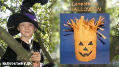 Lampášik na Halloween Halloween, Crochet Hats, Outdoor Decor, Knitting Hats, Spooky Halloween
