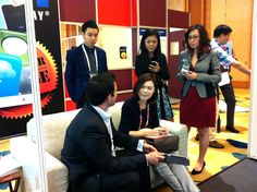 And Mr. Andy Pham was in the discussion... — in Singapore.