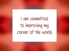 Daily Affirmation for May 10, 2014