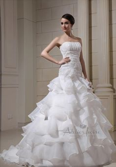 Wedding dress Tuscany by Atelier Ivoire