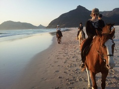 Horse Riding on the beach with EC Cape Town