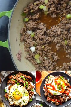 These Korean Ground Beef bowls are an easy and quick ground beef recipe perfect for weeknight dinners! The flavors of beef bulgogi made easy using ground beef! Quick Ground Beef Recipes, Best Beef Recipes, Asian Recipes, Easy Recipes, Ground Beef Recipe Filipino, Diet Recipes, System Of A Down, Mole, Korean Ground Beef