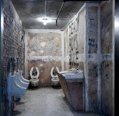 the Met's Punk: Chaos to Couture exhibit has a CBGB bathroom replica.  Punk rock!
