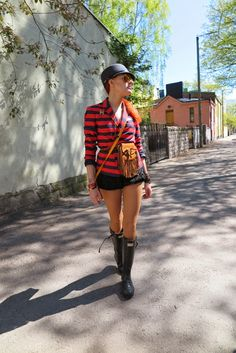 The wardrobe of Ms. B: Brunch