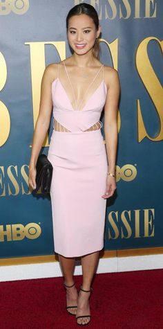 Look of the Day - April 30, 2015 - Jamie Chung from #InStyle