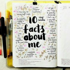 Ultimate List of Bullet Journal Ideas: 101 Inspiring Concepts to Try Today (Part - Simple Life of a Lady Thirsting for more bullet journal ideas? Here's the second installment of Ultimate List of Bullet Journal Ideas! Get your bullet journals ready! Bullet Journal Notebook, Bullet Journal Inspo, Bullet Journal Ideas Pages, Journal Pages, Bullet Journals, Diary Notebook, Doodling Journal, Art Journals, My Journal