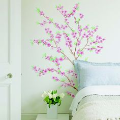 Peach Branches wallsticker