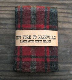 Tag Buffalo Check 12 oz. Red Stainless